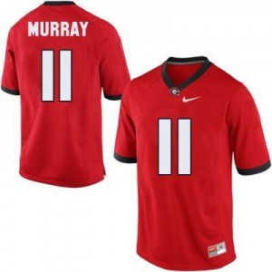 Aaron Murray (UGA) #11 Youth Football Jersey - Red