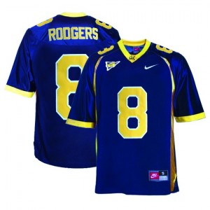 Aaron Rodgers California Golden Bears #8 Football Jersey - Blue