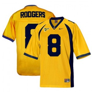 Aaron Rodgers California Golden Bears #8 Football Jersey - Gold