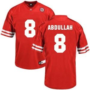 Ameer Abdullah Nebraska Cornhuskers #8 Football Jersey - Red