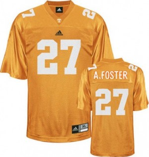 Arian Foster Tennessee Volunteers #27 Youth Football Jersey - Orange