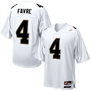 Brett Favre Southern Mississippi Golden Eagles #4 Football Jersey - White