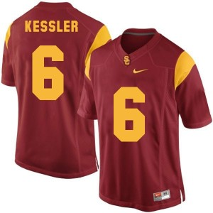 Cody Kessler USC Trojans #6 Football Jersey - Red