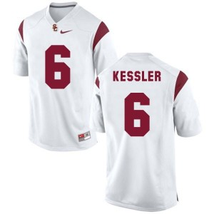 Cody Kessler USC Trojans #6 Football Jersey - White