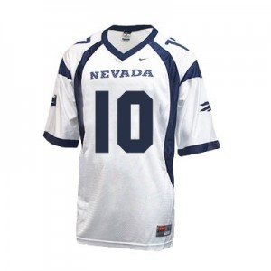 Colin Kaepernick Nevada Wolf Pack #10 Youth Football Jersey - White