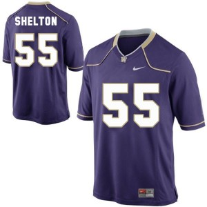 Danny Shelton Washington Huskies #55 Youth Football Jersey - Purple