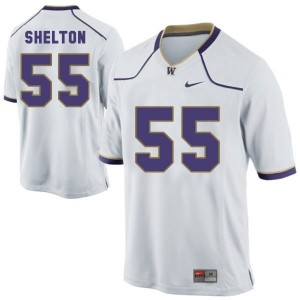 Danny Shelton Washington Huskies #55 Youth Football Jersey - White