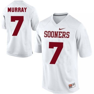 DeMarco Murray Oklahoma Sooners #7 Youth Football Jersey - White