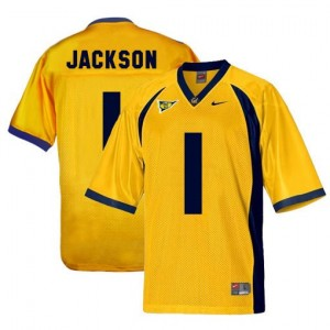 DeSean Jackson California Golden Bears #1 Football Jersey - Gold