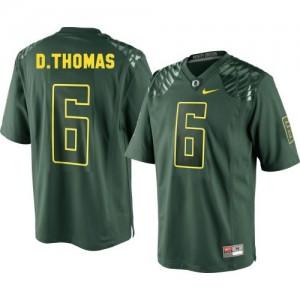 De'Anthony Thomas Oregon Ducks #6 Football Jersey - Green