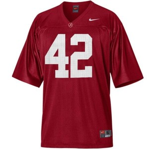 Eddie Lacy Alabama #42 Football Jersey - Crimson Red