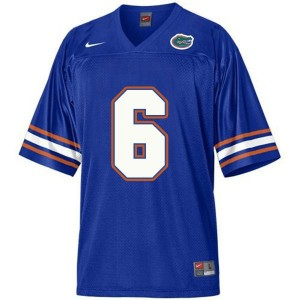 Jeff Driskel Florida Gators #6 Youth Football Jersey - Blue