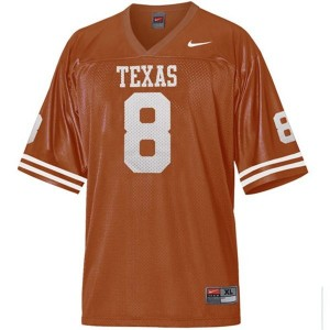 Jordan Shipley Texas Longhorns #8 Football Jersey - Orange