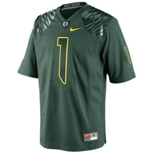 Josh Huff Oregon Ducks #1 Football Jersey - Green