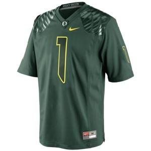 Josh Huff Oregon Ducks #1 Youth Football Jersey - Green