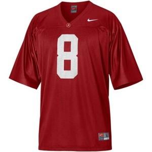 Julio Jones Alabama #8 Youth Football Jersey - Crimson Red