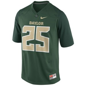 Lache Seastrunk Baylor Bears #25 Youth Football Jersey - Green