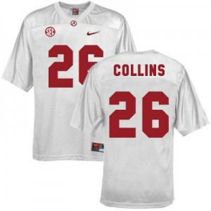 Landon Collins Alabama #26 Youth Football Jersey - White