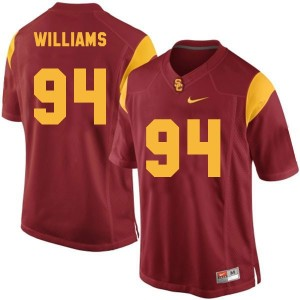 Leonard Williams USC Trojans #94 Youth Football Jersey - Red