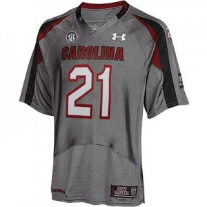 Marcus Lattimore South Carolina Gamecocks #21 Youth Football Jersey - Gray