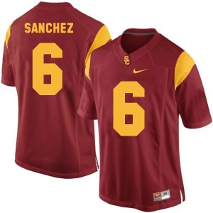 Mark Sanchez USC Trojans #6 Youth Football Jersey - Red