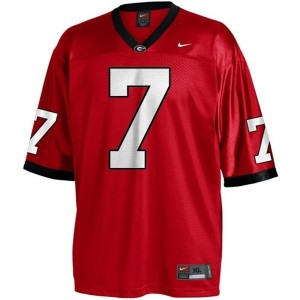Matthew Stafford (UGA) #7 Youth Football Jersey - Red