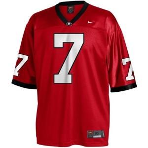 Matthew Stafford (UGA) #7 Youth Football Jersey - Red