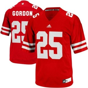 Melvin Gordon Wisconsin Badgers #25 Football Jersey - Red