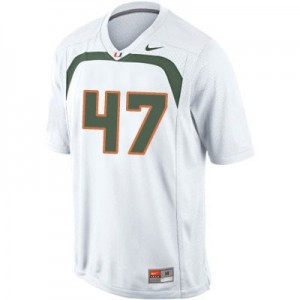 Michael Irvin Miami Hurricanes #47 Football Jersey - White