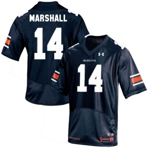 Nick Marshall Auburn Tigers #14 Football Jersey - Navy Blue
