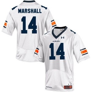 Nick Marshall Auburn Tigers #14 Youth Football Jersey - White