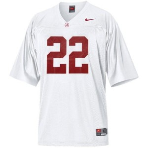 Alabama Crimson Tide Mark Ingram #22 White Football Jersey