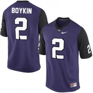 Trevone Boykin TCU Horned Frogs #2 College Football Jersey - Purple