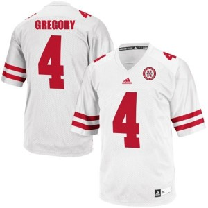 Randy Gregory Nebraska Cornhuskers #4 Football Jersey - White