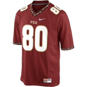 Rashad Greene (FSU) #80 Football Jersey - Garnet Red