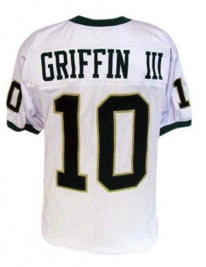 Robert Griffin III Baylor Bears #10 Football Jersey - White
