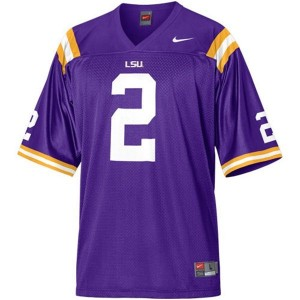 Rueben Randle LSU Tigers #2 Mesh Football Jersey - Purple