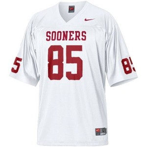 Ryan Broyles Oklahoma Sooners #85 Youth Football Jersey - White