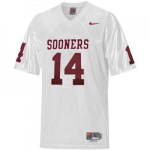 Sam Bradford Oklahoma Sooners #14 Football Jersey - White