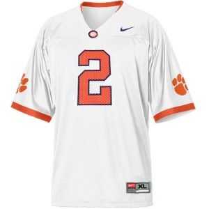 Sammy Watkins Clemson Tigers #2 Youth Football Jersey - White