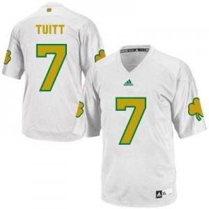 Stephon Tuitt Notre Dame Fighting Irish #7 Shamrock Series Football Jersey - White
