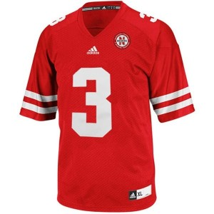 Taylor Martinez Nebraska Cornhuskers #3 Youth Football Jersey - Red
