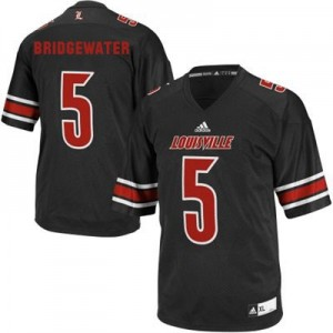 Teddy Bridgewater Louisville Cardinals #5 Youth Football Jersey - Black