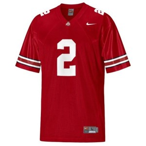 Terrelle Pryor Ohio State Buckeyes #2 Youth Football Jersey - Scarlet Red