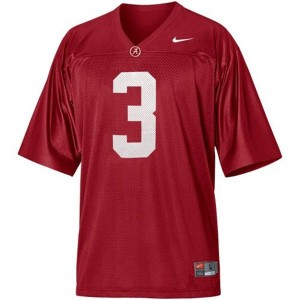 Trent Richardson Alabama #3 Football Jersey - Crimson Red