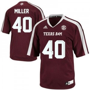 Von Miller Texas A&M Aggies #40 Football Jersey - Maroon Red