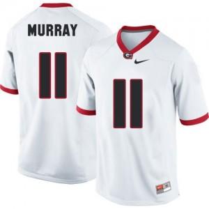 Aaron Murray (UGA) #11 Football Jersey - White