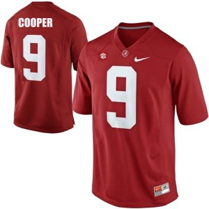 Amari Cooper Alabama #9 Football Jersey - Crimson Red