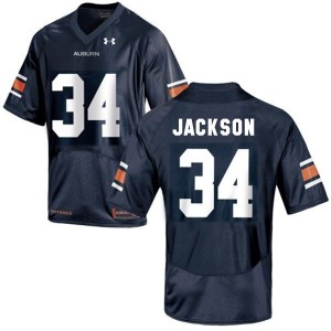 Bo Jackson Auburn Tigers #34 Football Jersey - Navy Blue