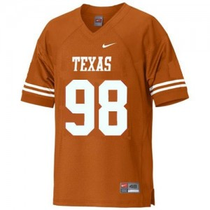 Brian Orakpo Texas Longhorns #98 Youth Football Jersey - Orange